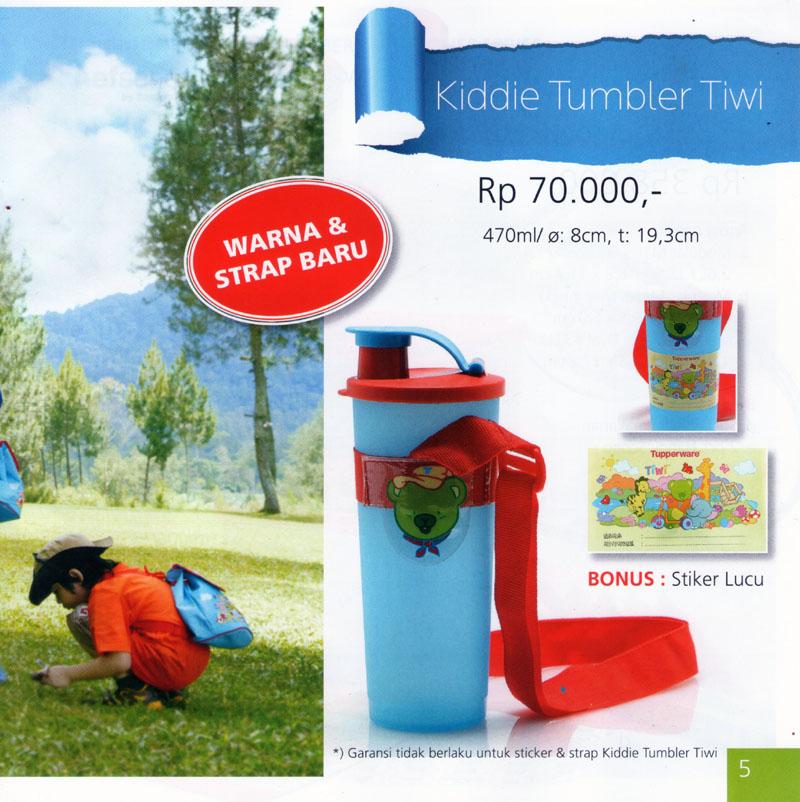 Katalog Tupperware Promo Juni 2013-Kiddie Tumbler Tiwi, tupperwareraya