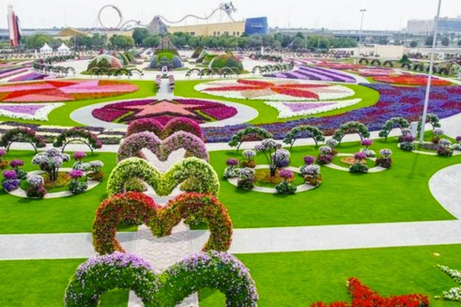 The Most Amazing Garden In The World Dubai Miracle