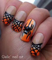 http://gelicnailart.blogspot.se/2013/11/halloween-spider-funky-french.html