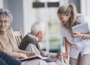 Cuidado de ancianos para adultos