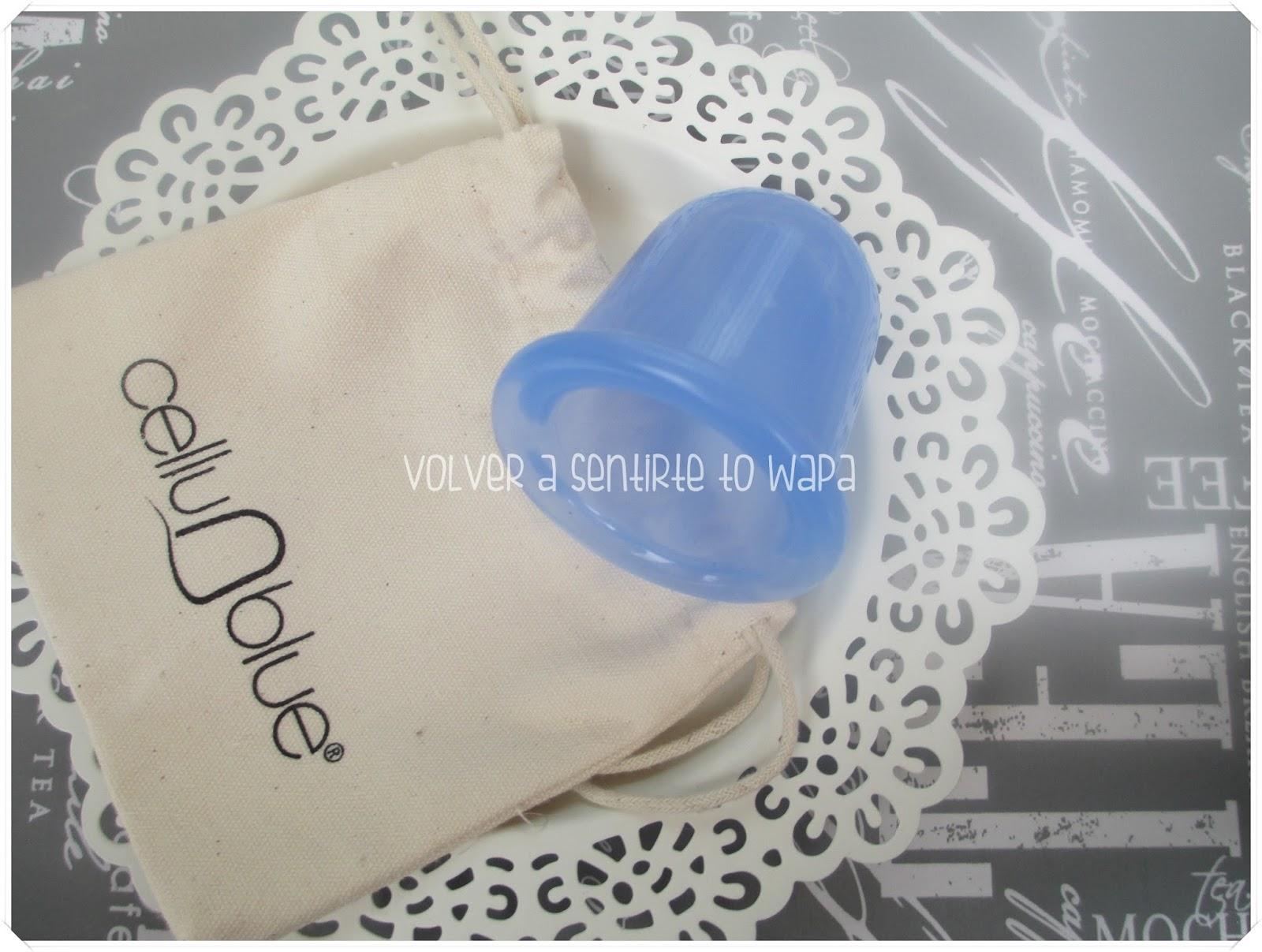 Cellu-Blue - masajeador anticelulítico de silicona