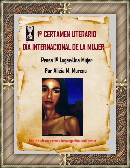 """Premio Prosa """"Letras y Versos"""""""