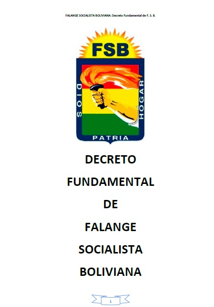 Decreto Fundamental FSB