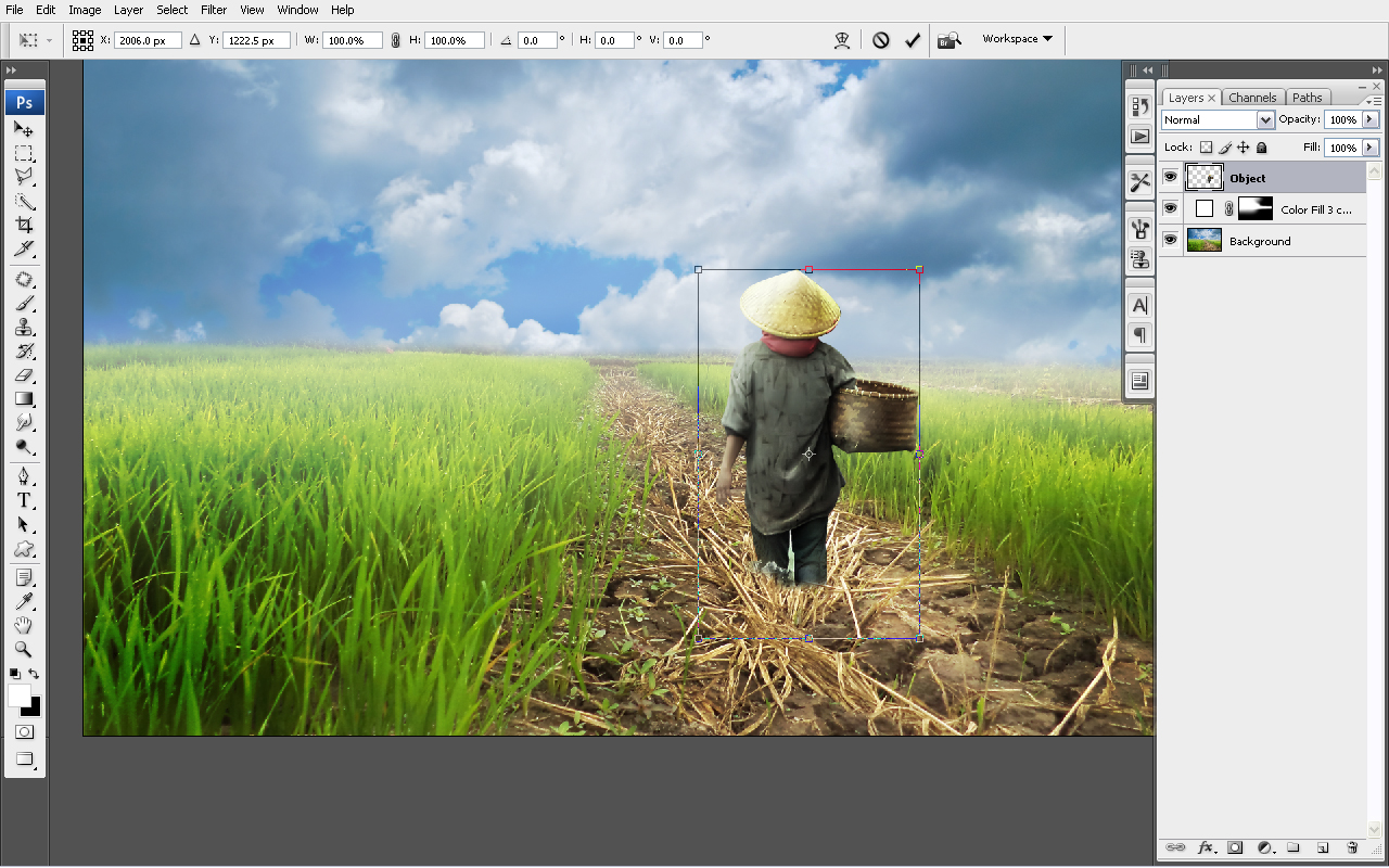 12 Tutorial Digital Imaging Dengan Photoshop