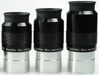 Oculares para telescopios