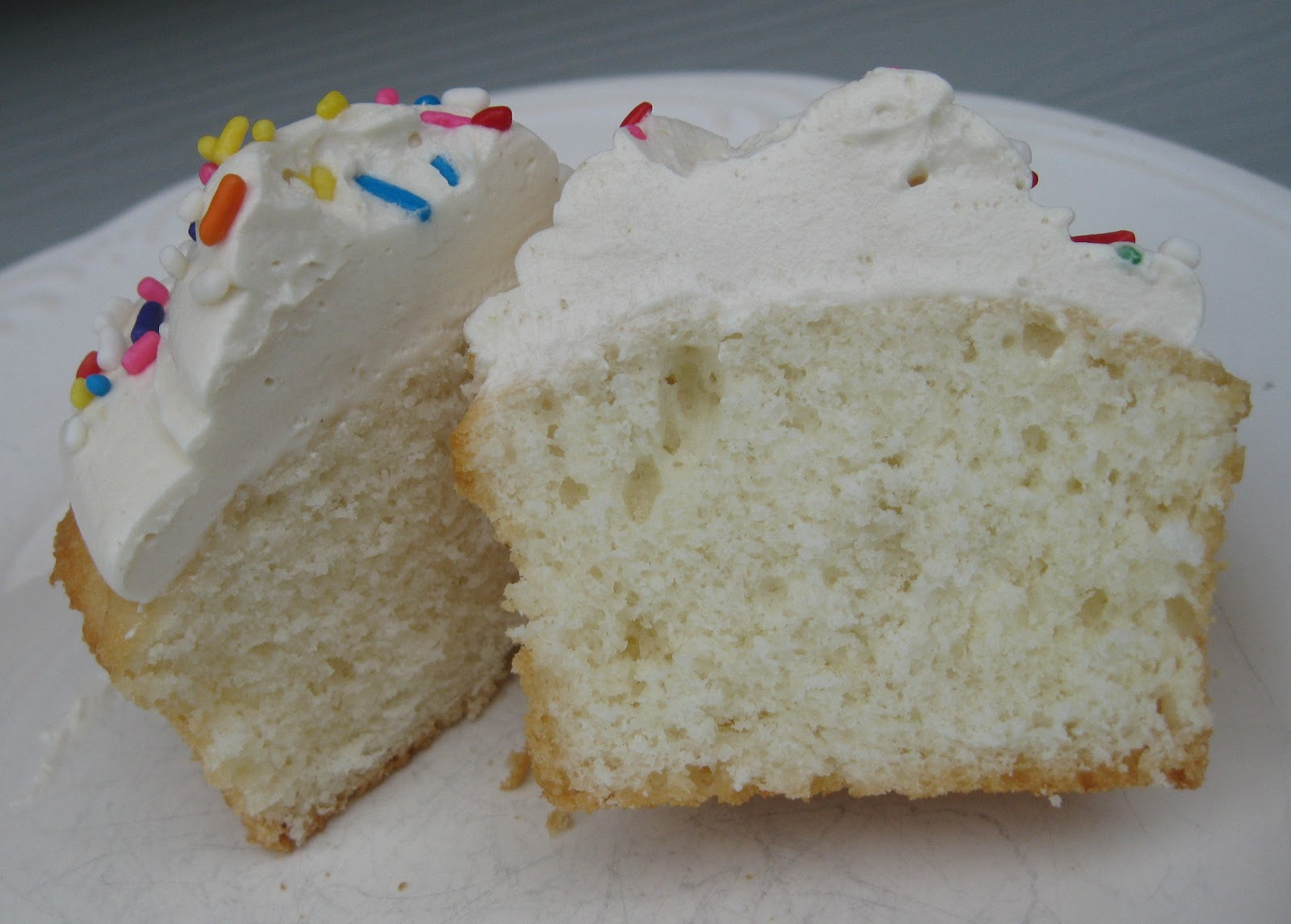 Baking Outside the Box: White Almond Sour Cream Cake