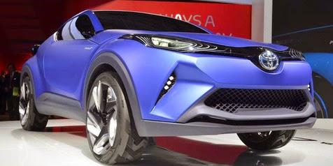 Desain Toyota C-HR