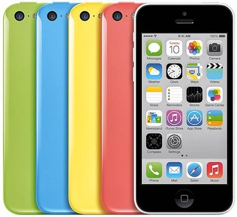 Harga iPhone 5C di Indonesia