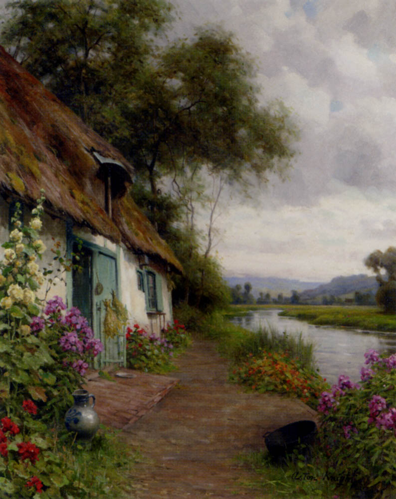 19th Century American Paintings Louis Aston Knight