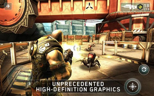 SHADOWGUN v1.1.0 For Galaxy S and PowerVR GPU Device