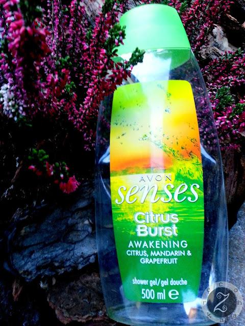 Avon, Senses, Citrus Burst, żel pod prysznic