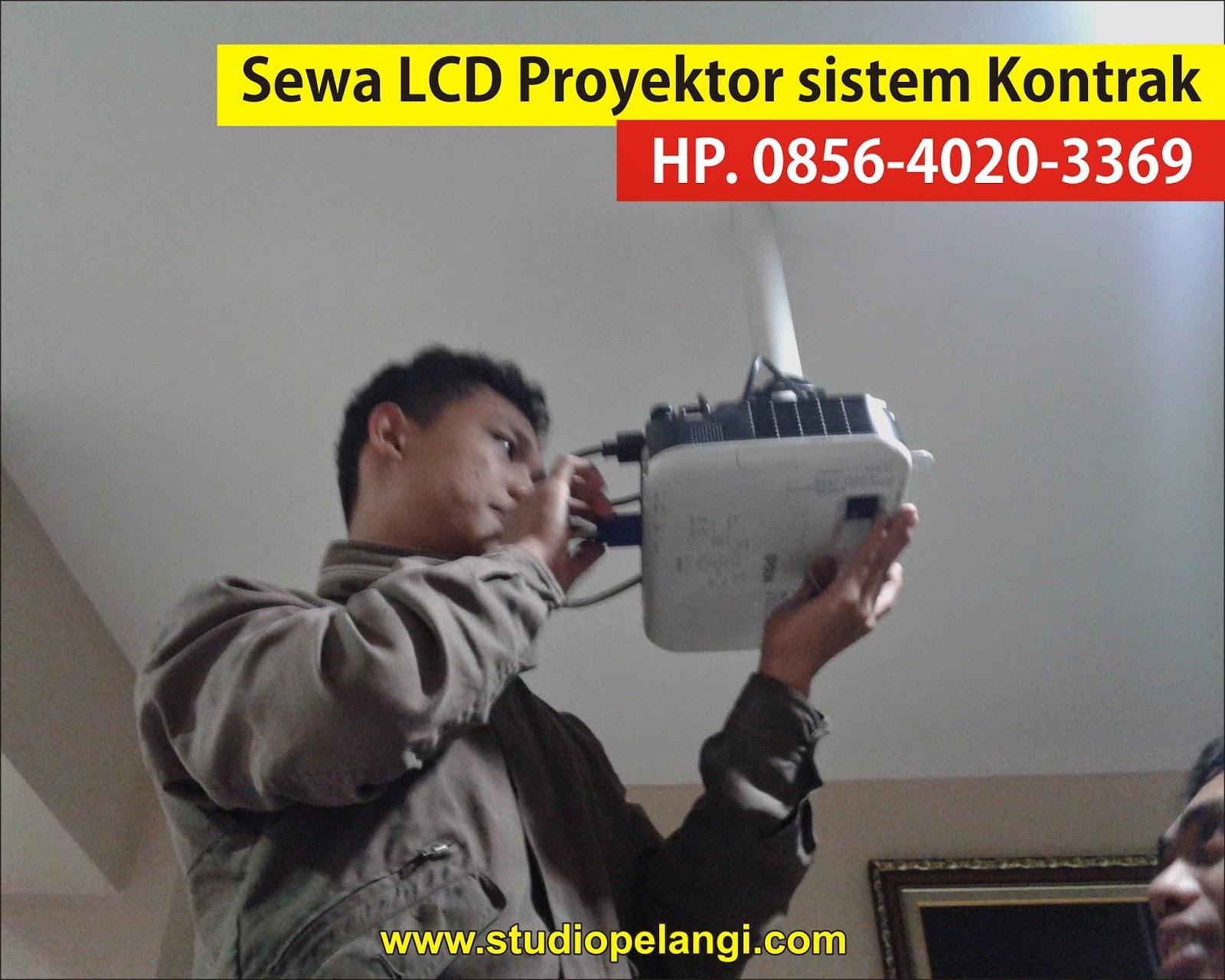 sewa lcd proyektor semarang