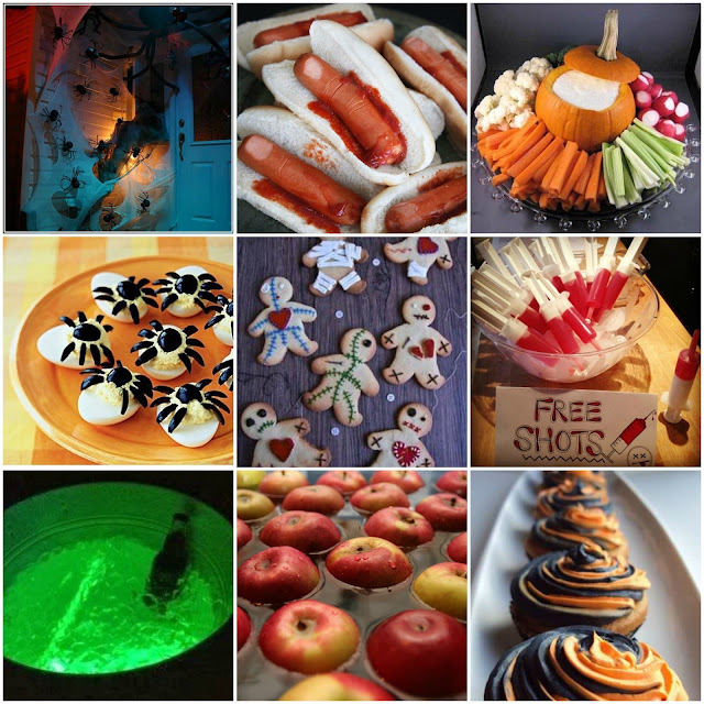 Pinterest inspired Halloween Party Ideas - Autumn/Fall