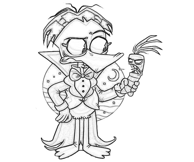 printable-count-duckula-cute_coloring-pages