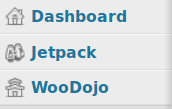 WooDojo icon in Wordpress menu