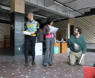 Rehearsal at MŰSZI