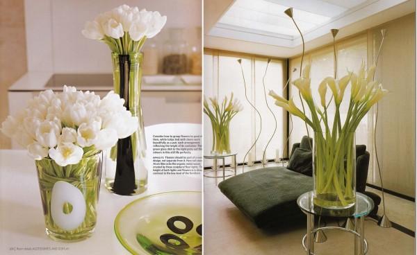 Cắm hoa trang trí phòng khách 25
