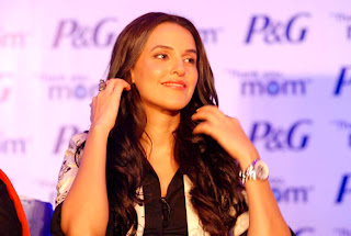 Actress Neha Dhupia at P&G's 'Thank you, Mom' event pictures