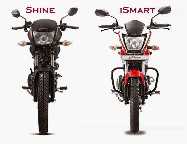 iSmart Bike vs Shine Bike