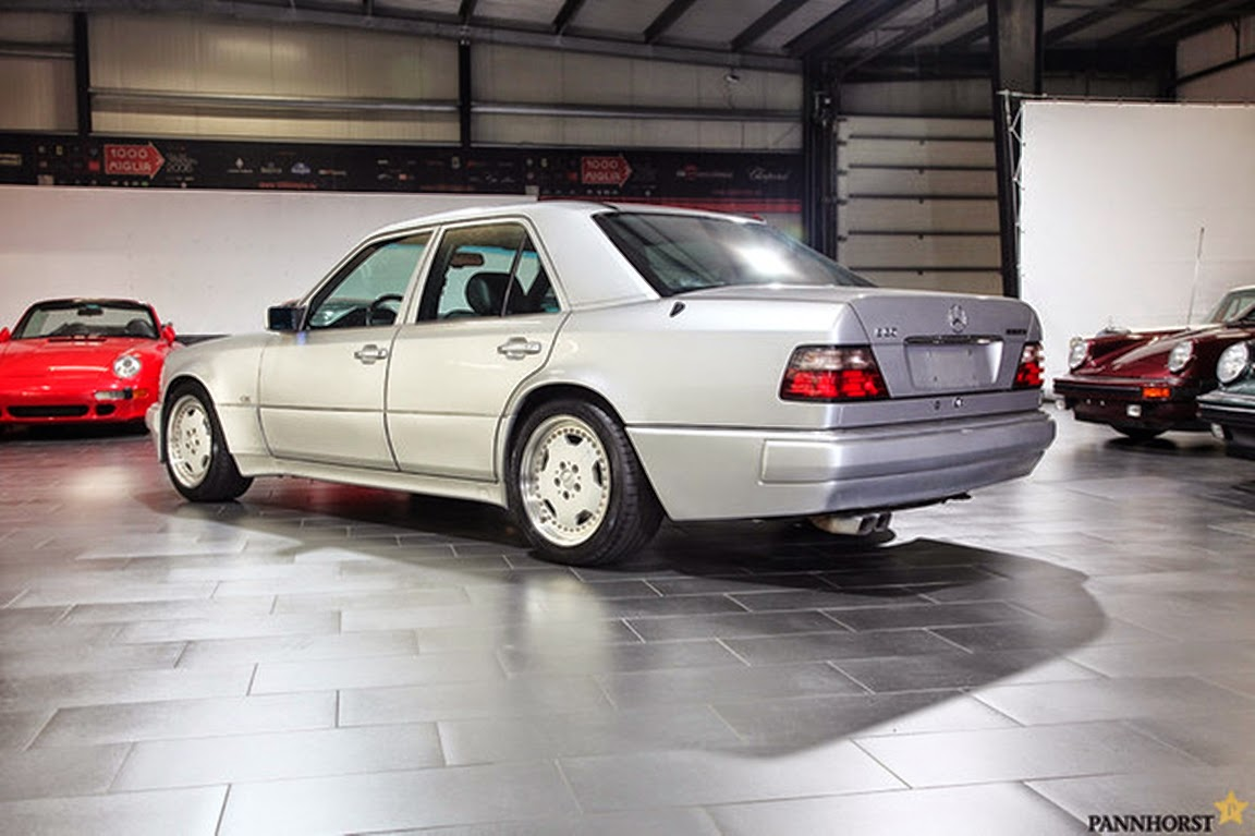 mercedes benz w124 e60 amg silver benztuning. Black Bedroom Furniture Sets. Home Design Ideas