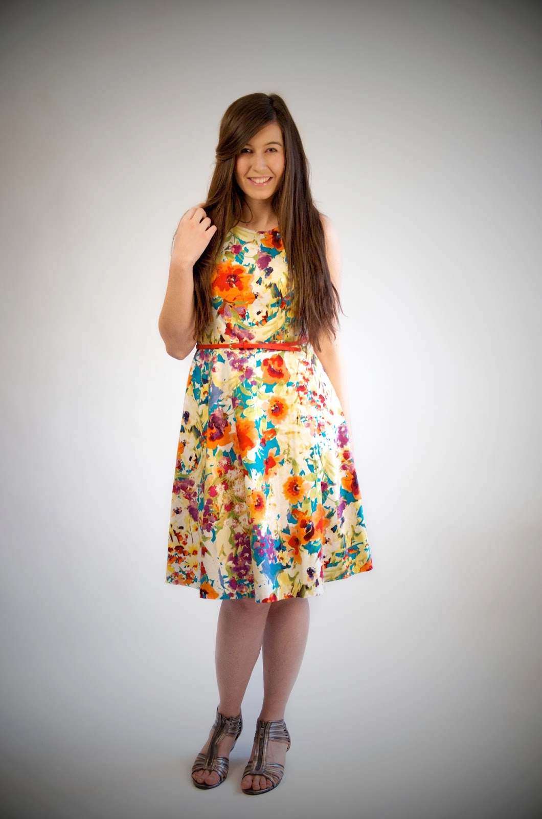 jcp, jcpenney, jcpenney dresses, jcp dress, jcpenney dresses, floral dress, floral outfit, chihuahua, puppies, cute dog, long hair, extensions, bellami hair extensions, summer time outfit, pretty, cute, love, summer love,