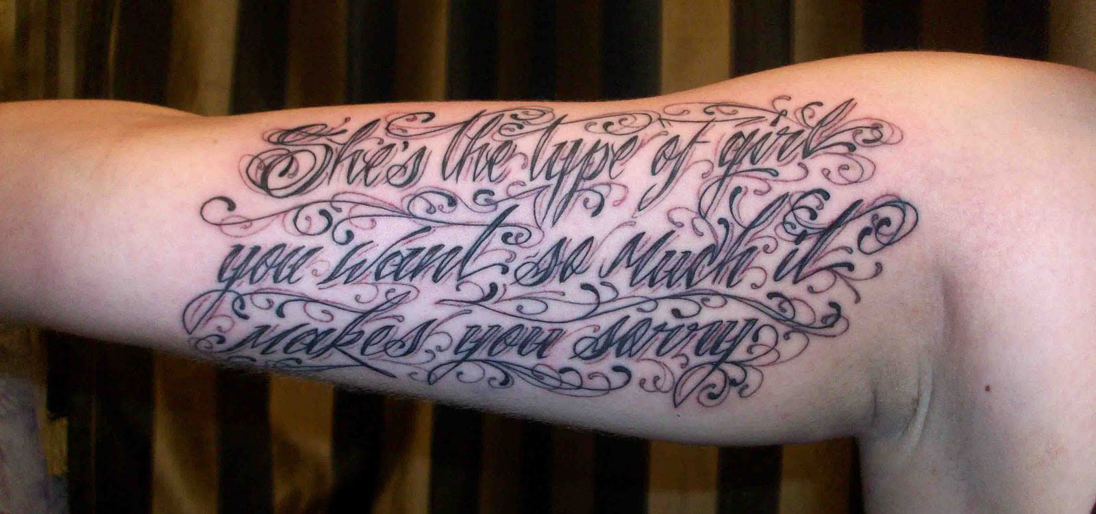 Tattoos fonts writing