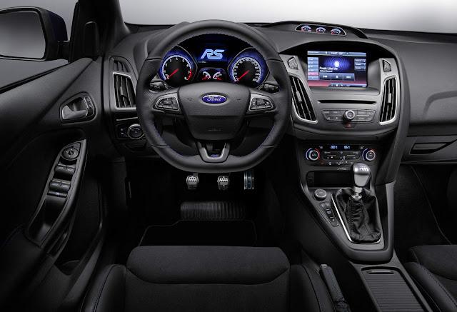 Novo Focus RS 2016 - interior