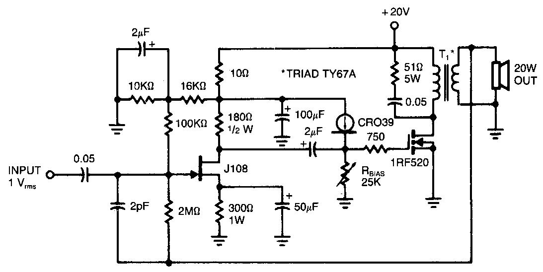Miraculous Forum Diagram Irf520 Audio Amplifier 20W Wiring Database Ilarigelartorg
