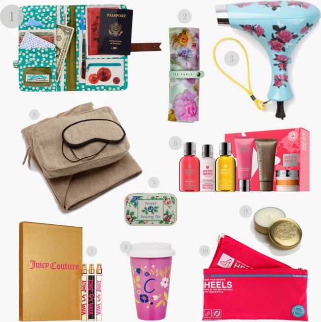 10 pretty travel gifts for mom for Luxury gifts for her