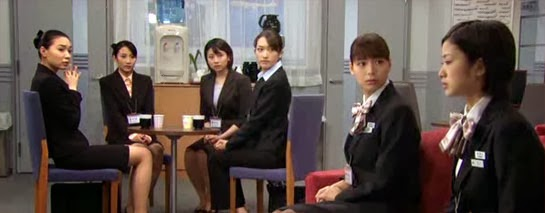 Sitting in the lounge, the girls look to Misaki and her unusually melancholy expression.