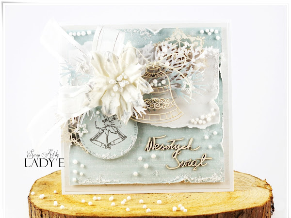 Frozen Christmas Cards & Video Tutorial / Mroźne kartki świąteczne i kurs video