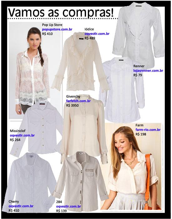 Poder Da Camisa Branca