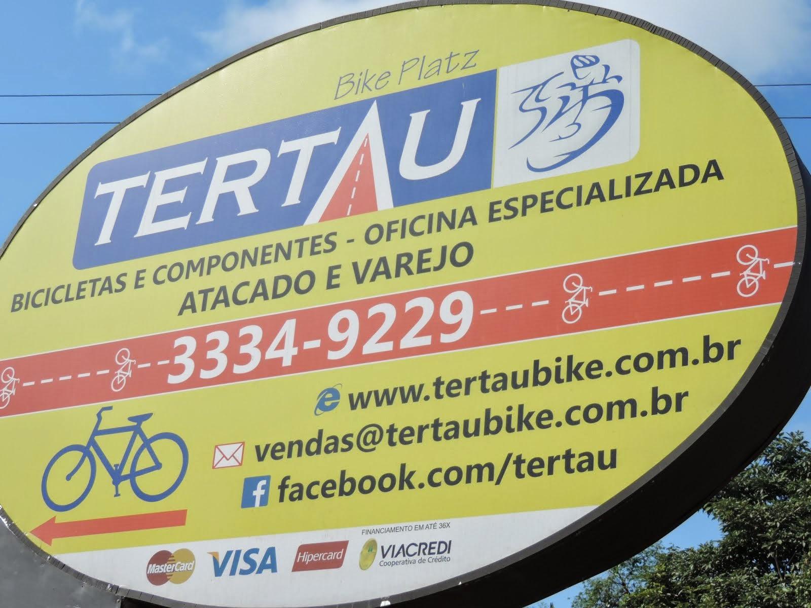 Bicicletas é na Tertau na Itoupava Central.