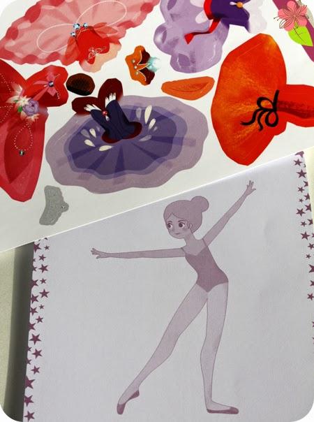 """Coffrey """"Mes danseuses à habiller"""" - Daphné Hong - éditions Gründ"""