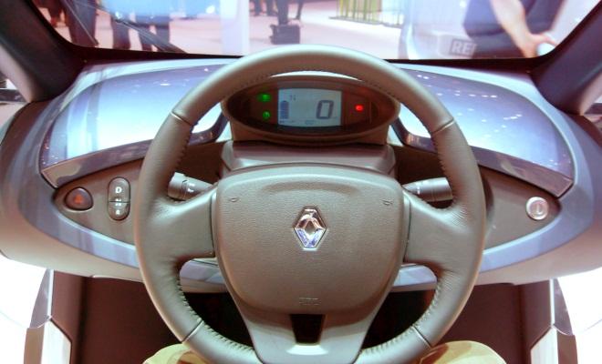 Renault Twizy ZE dashboard