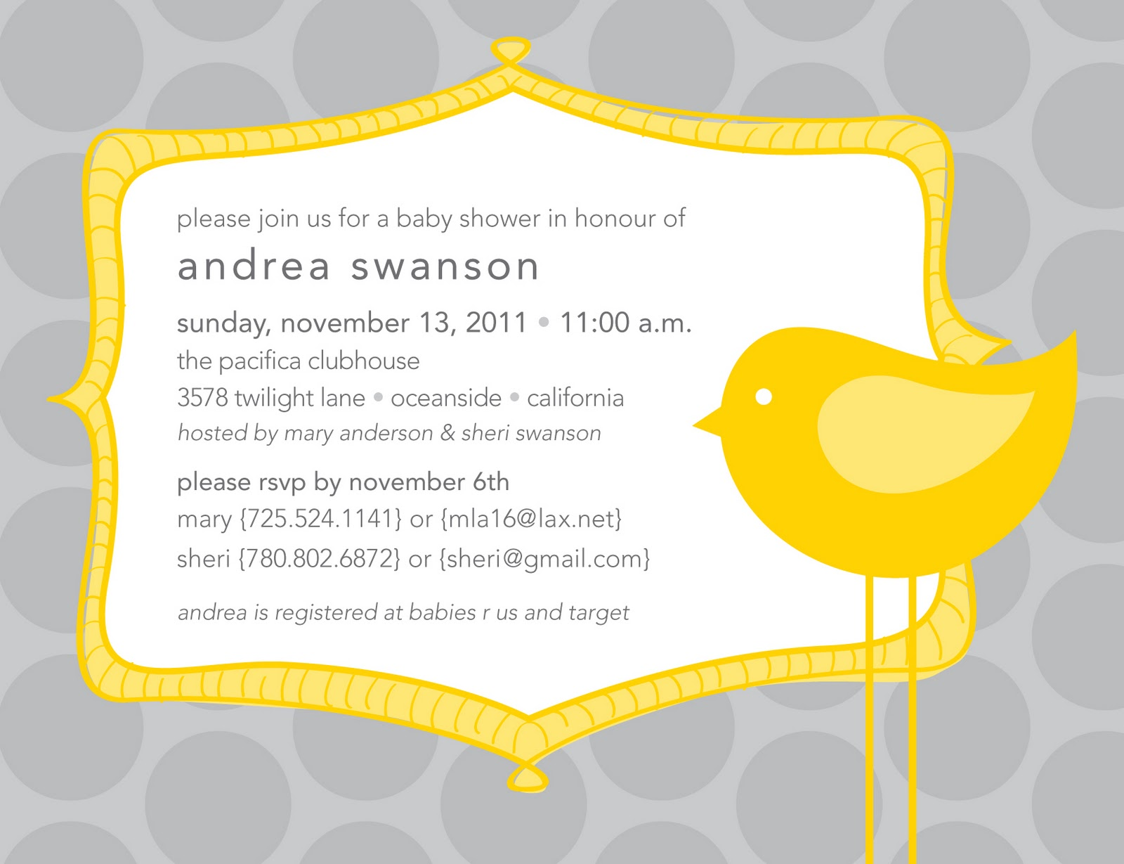 it 39 s all polkadots baby shower invites