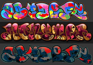 New  Letters Graffiti Alphabet fonts