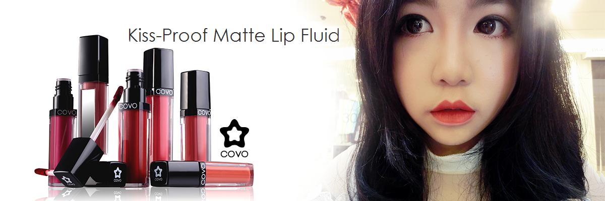 [REVIEW] COVO Kiss-proof Matte Lip Fluid