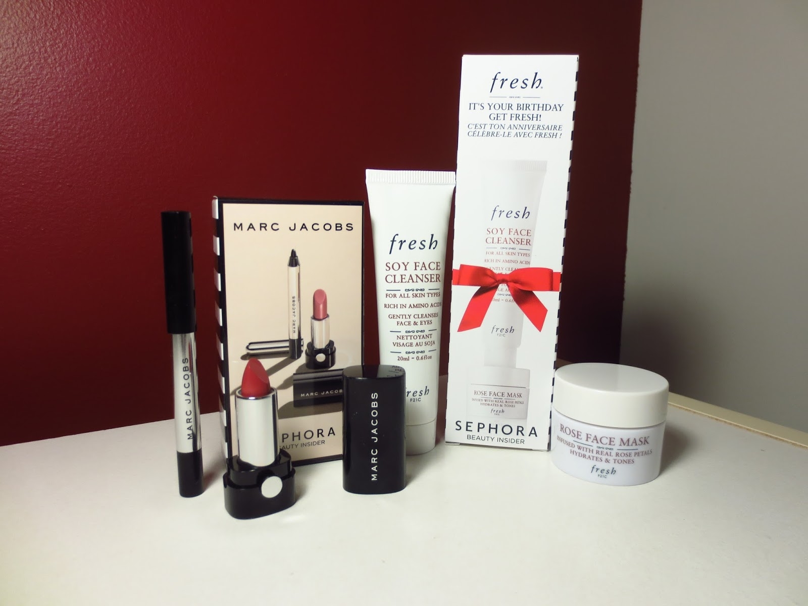 Sephora Beauty Insider Birthday Gift 2016 Marc Jacobs
