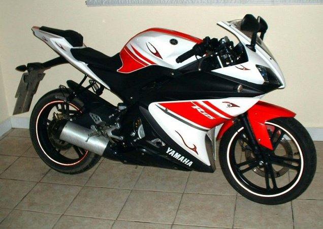 yamaha vixion modifikasi moto gp