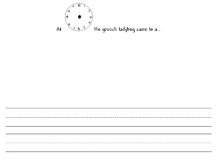 the grouchy ladybug essay example Eric carle's, 'the grouchy ladybug' offers students a great opportunity to practice telling time after creating their own clocks and ladybugs.
