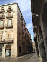 Dimoni Banyeta. Plaça del Vi. Llegendes. Girona.