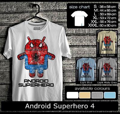 kaos distro android superhero 4