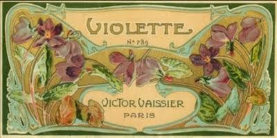 Violettes n° 789 (variante)