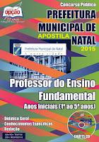 Apostila SME - Prefeitura de Natal - Completa - Professor do Ensino Fundamental