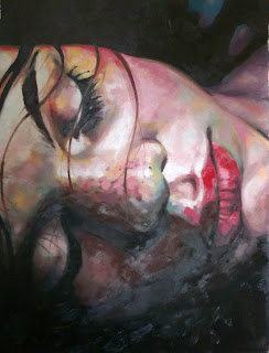 Photo credit: Thomas Saliot; oil painting from pinterest.com