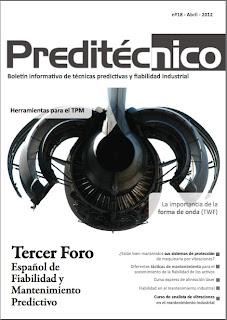 Revista Preditécnico 18 sobre temas de mantenimiento predictivo y fiabilidad industrial