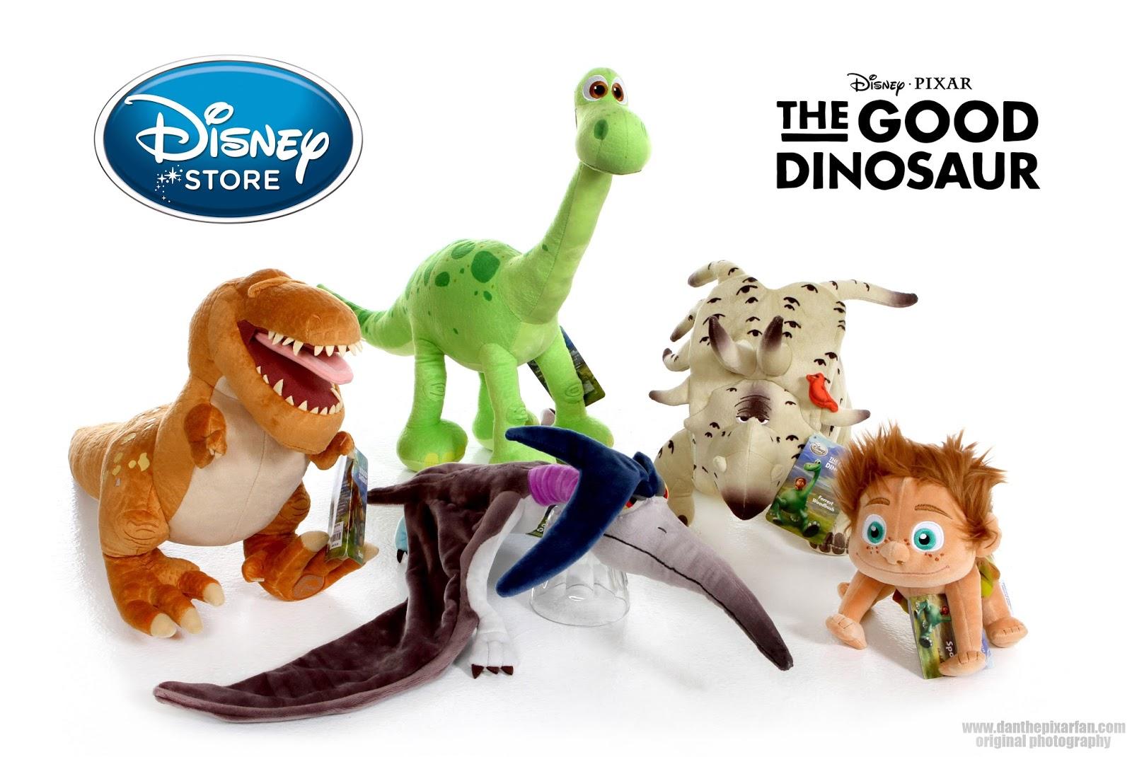 Disney Store Toys : Dan the pixar fan good dinosaur disney store plush