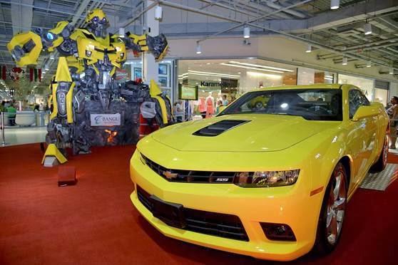 Bangu Shopping sorteia um Camaro Amarelo inédito no Brasil em seu 'Doce Natal'