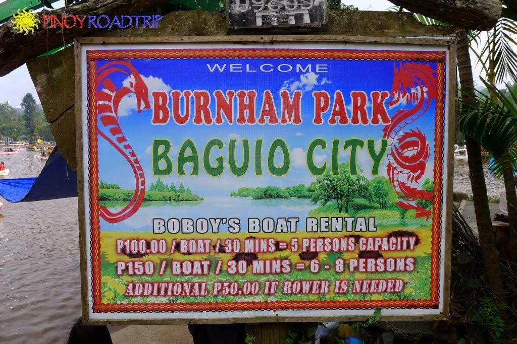 Baguio Burnham Park Boat Al Bike And Parking Rates